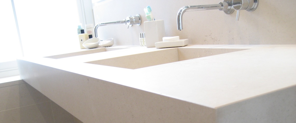 bathrom limestone